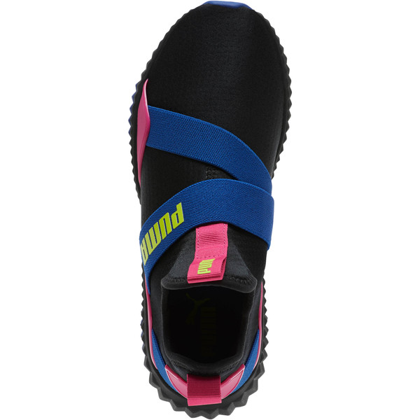 Defy Mid 90s Women's Sneakers, Puma Black-Surf The Web, large