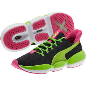 Thumbnail 2 of Mode XT 90s Women's Training Shoes, Puma Black-Limepunch-Purple, medium