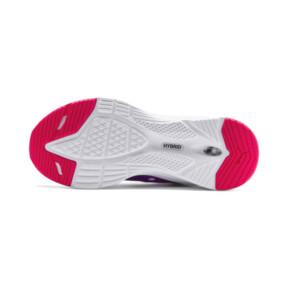 Thumbnail 3 of HYBRID Fuego Running Shoes JR, Puma White-Royal Lilac, medium