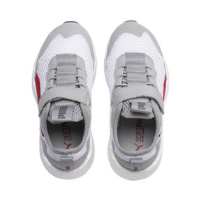 Thumbnail 6 of NRGY Neko Skim AC Shoes PS, White-H Rise-CASTLEROCK-Red, medium