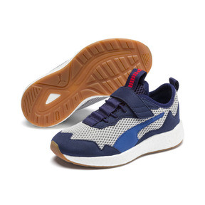 Thumbnail 2 of NRGY Neko Skim Little Kids' Shoes, Peacoat-Puma White, medium