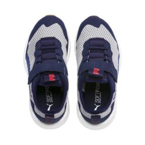 Thumbnail 6 of NRGY Neko Skim Little Kids' Shoes, Peacoat-Puma White, medium
