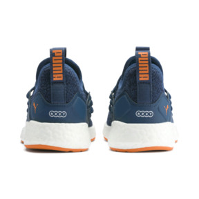 Thumbnail 3 of NRGY Neko Knit Shoes PS, G Sea-Peacoat-J Orange-White, medium