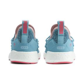Thumbnail 3 of NRGY Neko Knit Little Kids' Shoes, M Blue-Bluestone-C Coral-Wht, medium