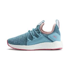 Thumbnail 1 of NRGY Neko Knit Little Kids' Shoes, M Blue-Bluestone-C Coral-Wht, medium