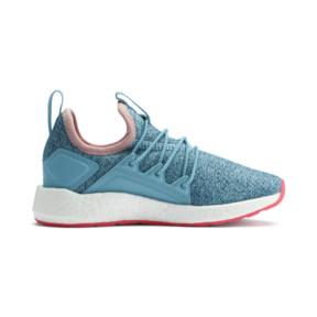Thumbnail 5 of NRGY Neko Knit Little Kids' Shoes, M Blue-Bluestone-C Coral-Wht, medium