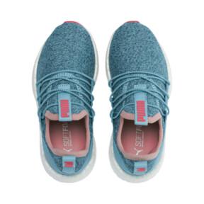 Thumbnail 6 of NRGY Neko Knit Little Kids' Shoes, M Blue-Bluestone-C Coral-Wht, medium