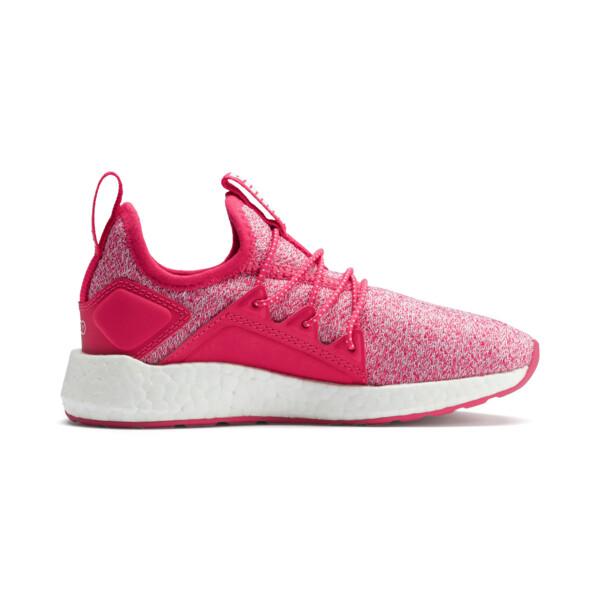 NRGY Neko Knit Shoes PS, Nrgy Rose-Puma White, large