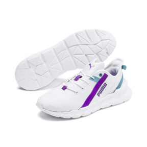 Thumbnail 2 of Weave XT Training Shoes JR, White-Milky Blue-Royal Lilac, medium