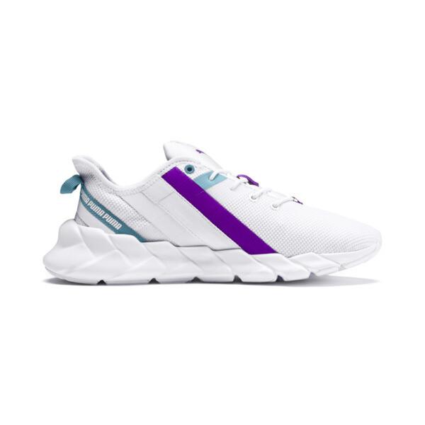 Weave XT Training Shoes JR, White-Milky Blue-Royal Lilac, large
