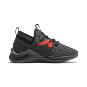 Thumbnail 5 of Emergence Shoes PS, Puma Black-Cherry Tomato, medium