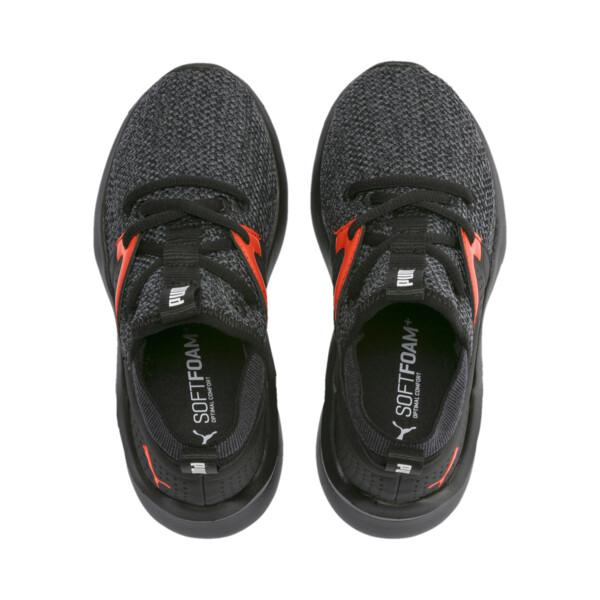 Emergence Little Kids' Shoes, Puma Black-Cherry Tomato, large