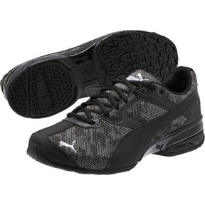 Thumbnail 2 of Tazon 6 Camo Mesh Sneakers, Puma Black-Puma White, medium