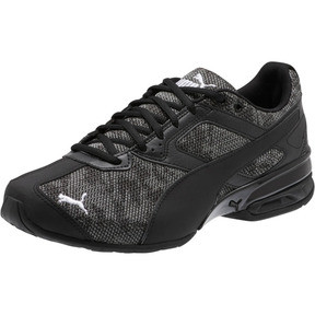 Thumbnail 1 of Tazon 6 Camo Mesh Sneakers, Puma Black-Puma White, medium