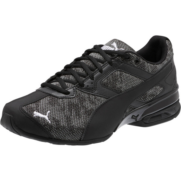 Tazon 6 Camo Mesh Sneakers, Puma Black-Puma White, large