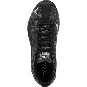 Thumbnail 5 of Tazon 6 Camo Mesh Sneakers, Puma Black-Puma White, medium