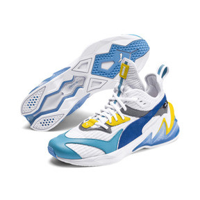Thumbnail 2 of LQDCELL オリジン, Puma White-B Blue-Blz Yellow, medium-JPN
