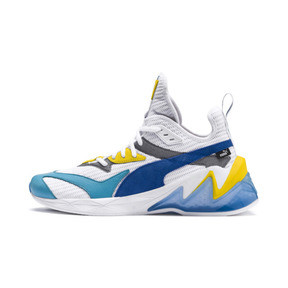 Thumbnail 1 of LQDCELL Origin Men's Training Shoes, Puma White-B Blue-Blz Yellow, medium