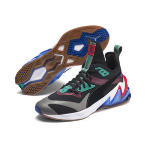 Thumbnail 2 of LQDCELL Origin Men's Training Shoes, Puma Black-Cadmium Green, medium