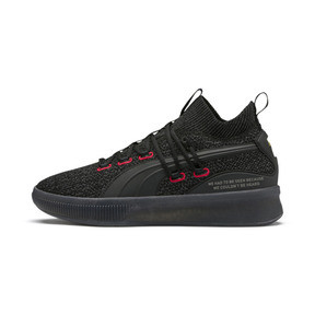 Thumbnail 1 of Clyde Court Reform Basketball Shoes, Puma Black, medium