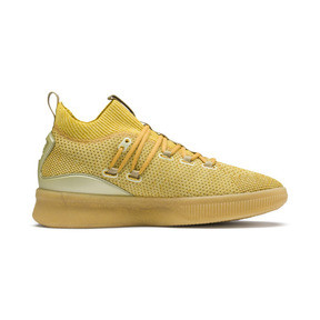 Thumbnail 5 of Clyde Court Title Run Men's Basketball Shoes, Metallic Gold, medium