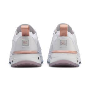 Thumbnail 4 of PUMA x SELENA GOMEZ Runner Damen Trainingsschuhe, Puma White-Peach Bud, medium
