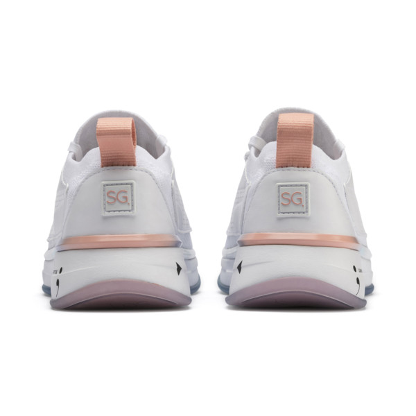 PUMA x SELENA GOMEZ Runner Women's Training Shoes, Puma White-Peach Bud, large
