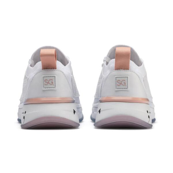 PUMA x SELENA GOMEZ Runner Damen Trainingsschuhe, Puma White-Peach Bud, large