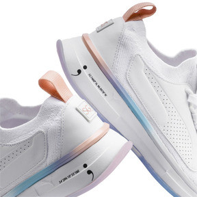 Thumbnail 8 of PUMA x SELENA GOMEZ Runner Women's Training Shoes, Puma White-Peach Bud, medium