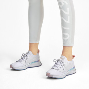 Thumbnail 2 of PUMA x SELENA GOMEZ Runner Damen Trainingsschuhe, Puma White-Peach Bud, medium