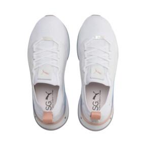 Thumbnail 7 of PUMA x SELENA GOMEZ Runner Damen Trainingsschuhe, Puma White-Peach Bud, medium