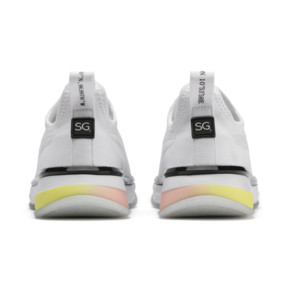 Thumbnail 4 of PUMA x SELENA GOMEZ Slip-On Women's Training Shoes, Puma White-Puma Black, medium