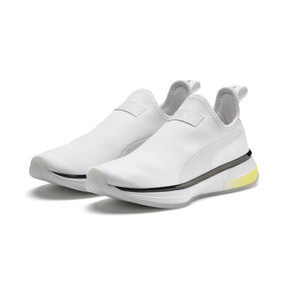 Thumbnail 3 of PUMA x SELENA GOMEZ Slip-On Women's Training Shoes, Puma White-Puma Black, medium