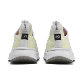 Thumbnail 4 of PUMA x SELENA GOMEZ Slip-On Gradient Women's Training Shoes, YELLOW-Peach Bud-White, medium