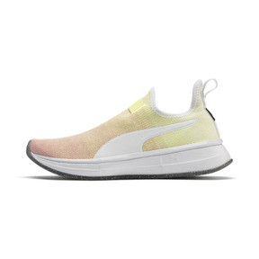Thumbnail 1 of PUMA x SELENA GOMEZ Slip-On Gradient Women's Training Shoes, YELLOW-Peach Bud-White, medium