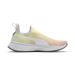 Anteprima 6 di PUMA x SELENA GOMEZ Slip-On Gradient Women's Training Shoes, YELLOW-Peach Bud-White, medio