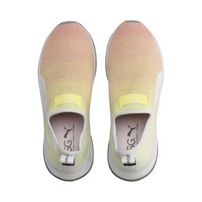 Thumbnail 7 of PUMA x SELENA GOMEZ Slip-On Gradient Damen Trainingsschuhe, YELLOW-Peach Bud-White, medium