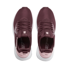 Thumbnail 6 of Enzo Beta Shine Sneakers JR, Vineyard Wine-Bridal Rose, medium
