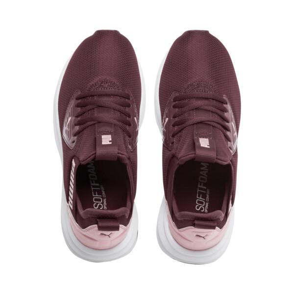 Enzo Beta Shine Sneakers JR, Vineyard Wine-Bridal Rose, large