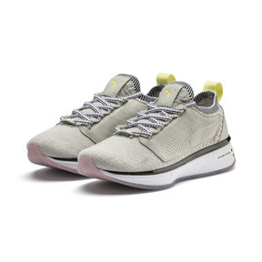 Thumbnail 3 of SG Runner Strength Women's Training Shoes, Glacier Gray-Puma White, medium