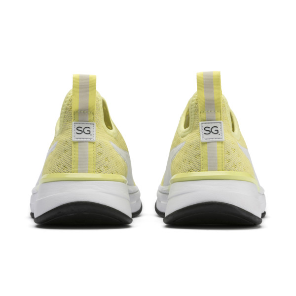 SG x PUMA SG スリッポン ブライト ウィメンズ, YELLOW-Puma White-Puma Black, large-JPN