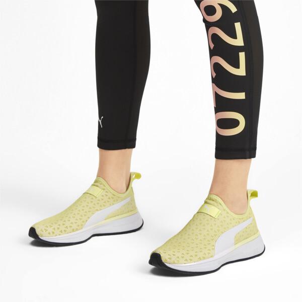 SG Slip-on Bright Women's Training Shoes, YELLOW-Puma White-Puma Black, large