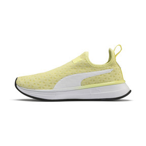 Thumbnail 1 of PUMA x SELENA GOMEZ Slip-On Women's Training Shoes, YELLOW-Puma White-Puma Black, medium