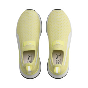 Thumbnail 7 of PUMA x SELENA GOMEZ Slip-On Women's Training Shoes, YELLOW-Puma White-Puma Black, medium