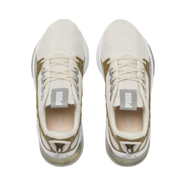 LQDCELL Optic Sci-Fi Women's Training Shoes, Pastel Parchment-Gold, large