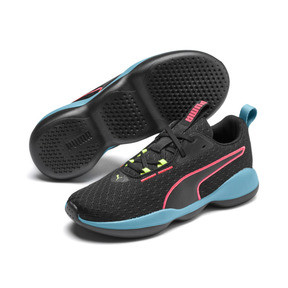 Thumbnail 2 of Flourish FS Women's Training Shoes, Puma Black-Milky Blue, medium