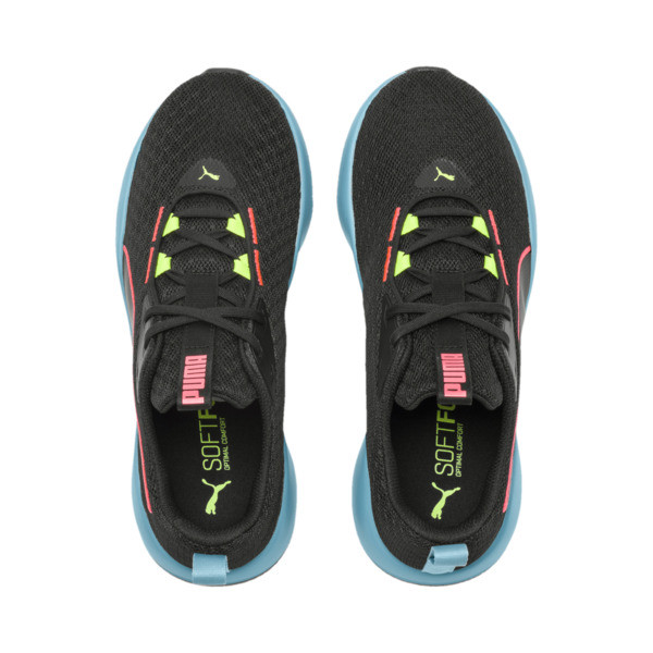 Flourish FS Women's Training Shoes, Puma Black-Milky Blue, large