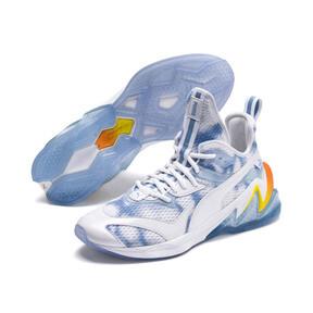 Thumbnail 2 of LQDCELL Origin Drone Day Men's Shoes, Puma White-Blazing Yellow, medium