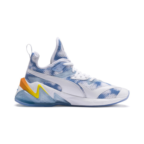 LQDCELL Origin Drone Day Men's Shoes, Puma White-Blazing Yellow, large