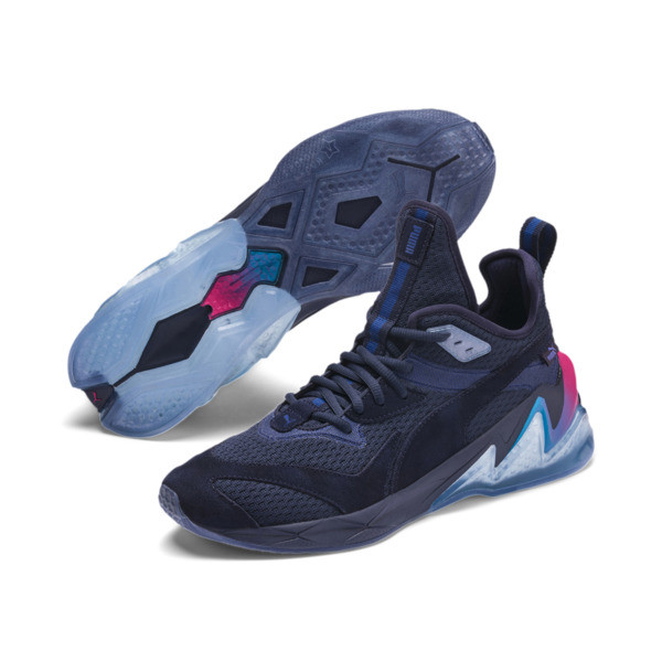 Zapatos LQDCELL Origin Drone Night para hombre, Peacat-Btr Prple-BLU Danube, grande